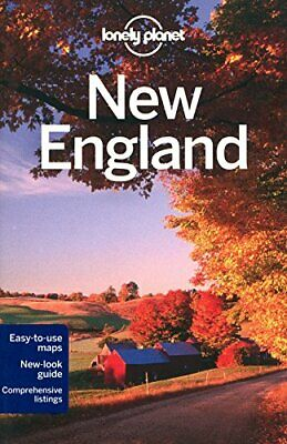 Lonely Planet New England (Travel Guide) by Sieg Paperback Book The Cheap Fast