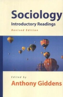 SOCIOLOGY., Giddens, Anthony. Paperback Book The Cheap Fast Free Post