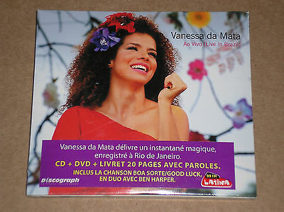 Vanessa Da Mata - Ao Vivo (Live In Brazil) - Cd + Dvd Sigillato (Sealed)