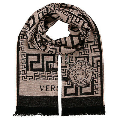 Versace IT00626 100% Wool Mens Scarf
