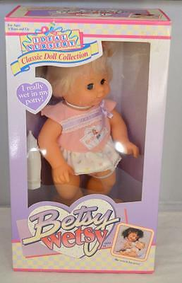 1991 Ideal Nursery Classic Doll Collection Betsy Wetsy Doll 9619