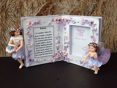Fairy Fantasy Collection By Regency Fine Arts Lilac Fairy Message Frame