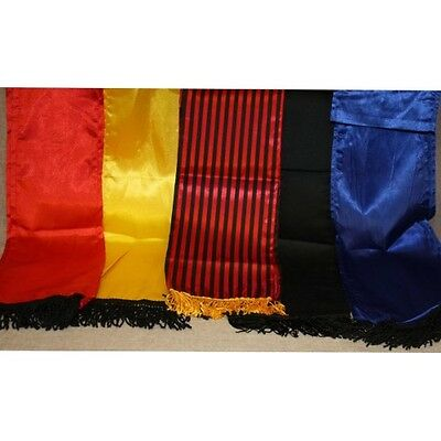 Renaissance Pirate Prince Napoleon Satin Sash with Fringe Halloween Costume