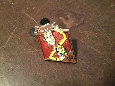Disney Woody (Toy Story) 60th Anniversary Mystery Pack Pin
