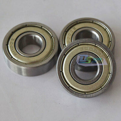 Bearings 6000 ZZ 2Z Two Side Metal Sealed Deep Groove Ball Bearing 10 x 26 x 8mm