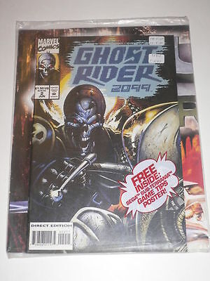 Ghost Rider 2099 #2 Factory Sealed w/ Poster VF Jun1994