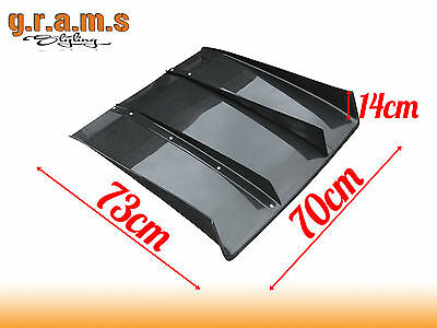UNIVERSAL 70cm Varis Style Diffuser / Undertray + Center fins for Racing Aero v4
