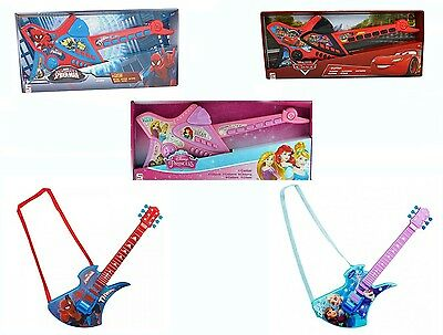 Disney Frozen Marvel Avengers Deluxe Guitar Piano Fun Music Play Toy New Gift