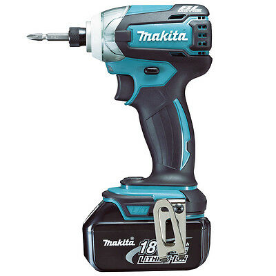 Makita BTD147RFE 18V Li-on Cordless Brushless Impact Driver with 3-Stage Impact