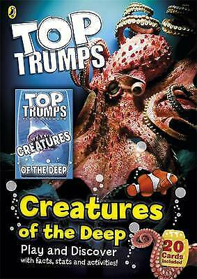 Top Trumps: Creatures of the Deep New Paperback