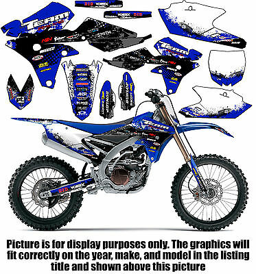 2015-2019 YAMAHA YZ 85 Graphics Kit Decals Stickers Team Racing 2018 2017  2016