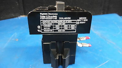 TYCO POTTER & BRUMFIELD Model: P25P42D22P1 1-48 Coil 48 VDC Magnetic Contactor