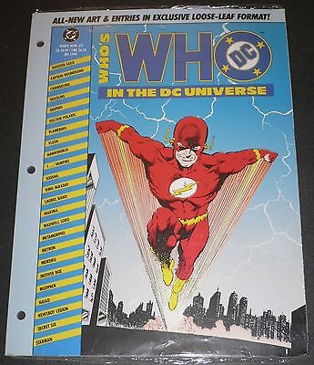 Who's Who in the DC Universe 48 Page Loose Leaf #2 Sep 1990 NM Flash Lot of 100