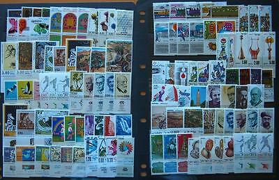 Israel Stamps Mint Unhinged With Tabs - 100 Stamps All Different- 30 Sets
