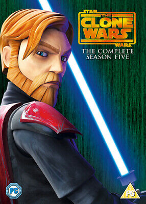 Star Wars - The Clone Wars: Season 5 DVD (2013) George Lucas ***NEW***