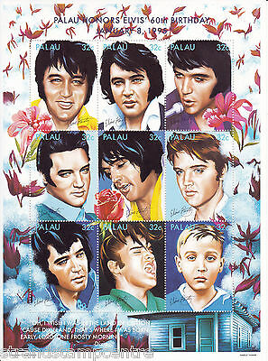 Stamps Latin America Official Website Guyana 6190-1995 Elvis Presley Perf Embossed In Silver With Hologram