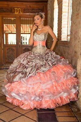 Quinceañera dresses set of 5 any size any color -Wholesale- must buy 5 or more