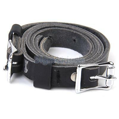 Leather Spur Straps Band Belt for Horse Riding Equestrian exercising Black