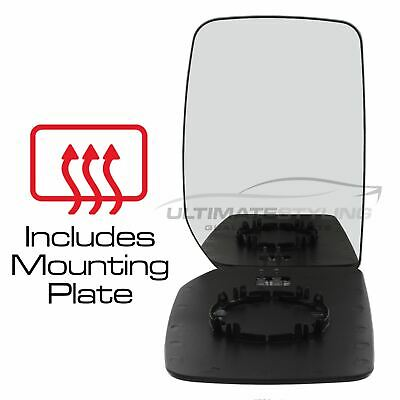 Ford Transit Mk6 2000-2006 Wing Mirror Glass Heated O/S Drivers Side Right
