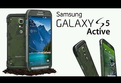 Samsung GalaxyS5 Active Cracked Screen Glass Repair Replacement Mail In Service