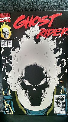 Ghost Rider Vol. 2 #15 July 1991 Marvel - First Print - Glow In The Dark Cover