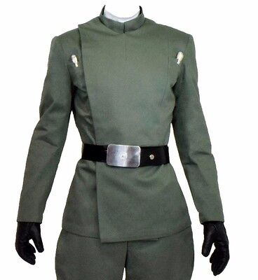 Licensed Star Wars Museum Replicas Imperial Officer Jacket Green or Black