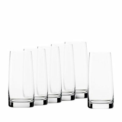 NEW Stolzle Experience Long Drink Glass 361mL Set of 6 (RRP $50)