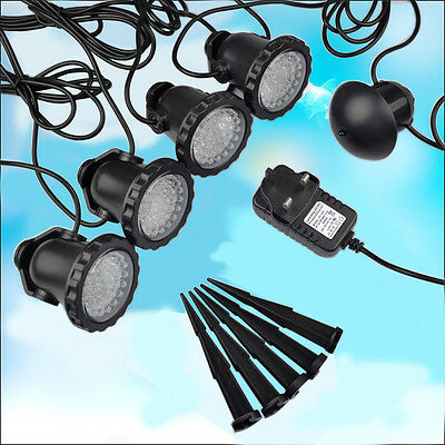 4 X Outdoor 36 LED Landscape Garden Plant Wall Yard Path Spot Light Lighting