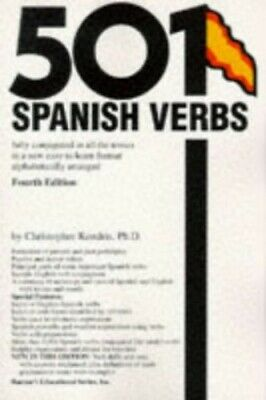 501 Spanish Verbs (Barrons) by Kendris, Christopher Hardback Book The Cheap Fast