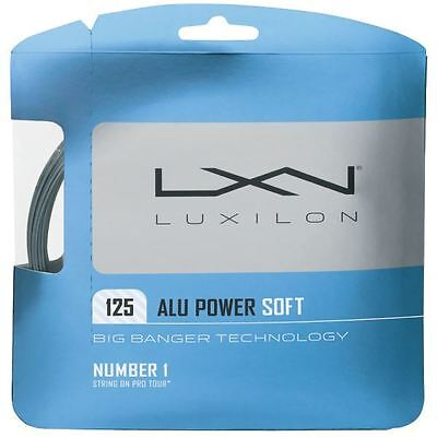 Luxilon Big Banger Alu Power Soft 1.25mm (Silver) 12.2m Pkt