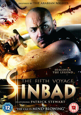 Sinbad - The Fifth Voyage DVD (2014) Shahin Sean Solimon cert 12 Amazing Value