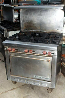 Montague Grizzly 6 Burner RANGE STOVE with OVEN  Gas