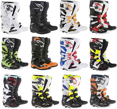 Alpinestars Mens Tech 7 Boots - MX Offroad Dirtbike
