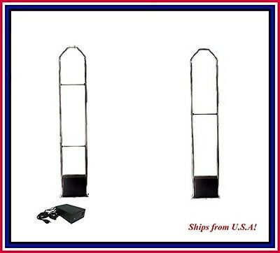 Stand-alone EAS 8.2 MHz RF Security Antenna CHECKPOINT® compatible - NO cable