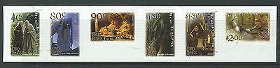New Zealand 2001 Lord Of The Rings Self Adhesive Set Of 6 Fine Used