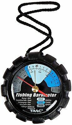 Trac Outdoor T3002 Fishing Barometer Braided lanyard by TRAC-Outdoor Products