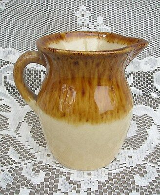 Vintage Art Pottery R.R.P. Co. Roseville, OH Syrup Creamer Pitcher Kitchen Tool