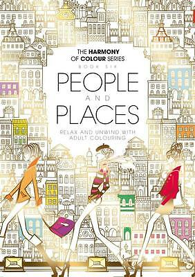 Harmony of Colour Book 6 People and Places - 36 Designs - NEW
