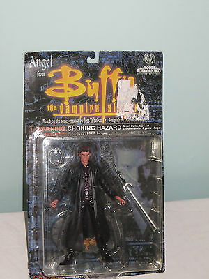 Buffy the Vampire Slayer Angel action figure. New on card. Moore Collectables