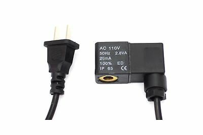 110v Solenoid For Regulators - With USA Plug