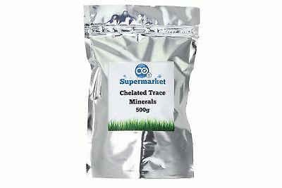 Chelated Trace Minerals 500g