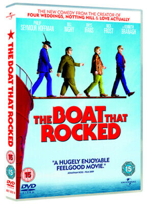 The Boat That Rocked DVD (2009) Philip Seymour Hoffman