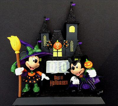 DISNEY Parks HALLOWEEN 2015 COUNTDOWN Calendar MICKEY & MINNIE New