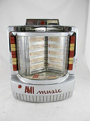 Original Ami Music Table Model Jukebox, Coin Op. C1955