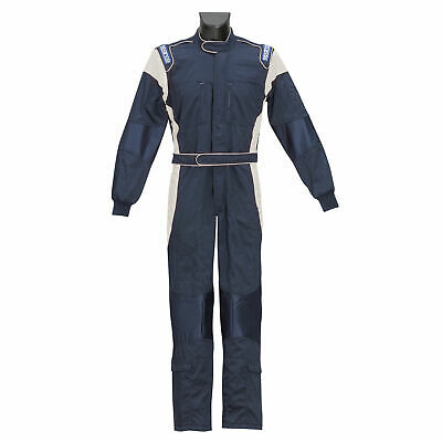 Sparco X-Light M Mechanics Overalls Medium Blue/Silver