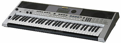 YAMAHA KEYBOARD PSR i455|SILVER COLOR KEYBOARD|INDIAN|CONCERT|EBF-2