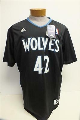 018b2a7f8 Kevin Love Minnesota Timberwolves Black Adidas Swingman Jersey w  Sleeves  ADULT