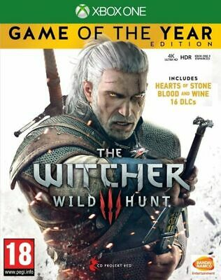 The Witcher 3 Wild Hunt Game Of The Year Edition Xbox One GOTY *NEW SEALED PAL*