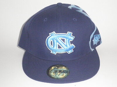 more photos a640f 9776d New Era 59Fifty North Carolina Tar Heels DUO Fitted Hat 7 3 8 ( 32