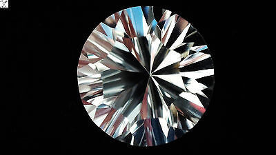 1x Morganite -  Rund weiss IF facettiert  3,44ct. 10,0x6,9mm (2486B)